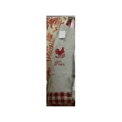 sac  pain brodé coq