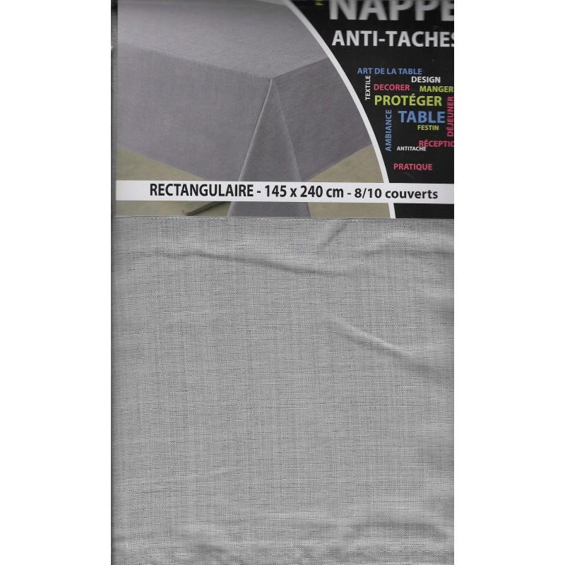 nappe antitache rectangle 140x240. Black Bedroom Furniture Sets. Home Design Ideas