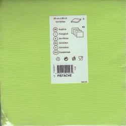 40 serviettes table papier