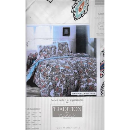 parure de draps 4 pi ces. Black Bedroom Furniture Sets. Home Design Ideas