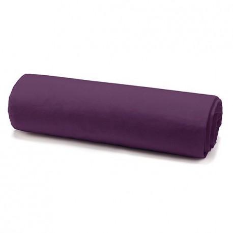 Drap housse deep purple 160/200