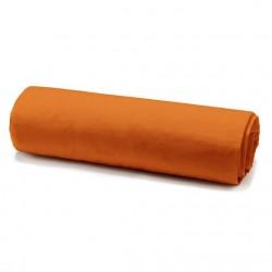 Drap housse mandarine 160/200