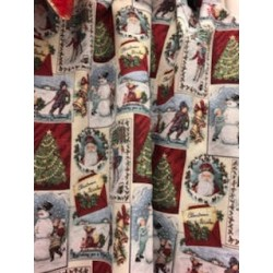 Tissus chalet / Noël au mètre