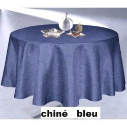 Nappe antitache CHINÉ BLUE