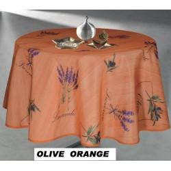 Nappe antitache OLIVE ORANGE