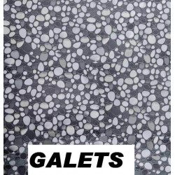 Nappe relief Galets