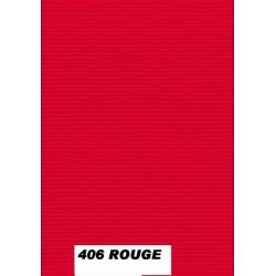 Tapis en gomme Rouge