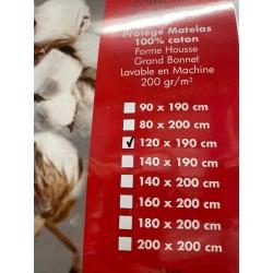 protège matelas coton